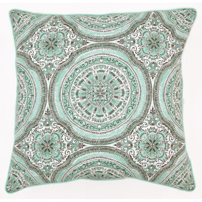 Barnstable Cotton Throw Pillow Color: Seafoam