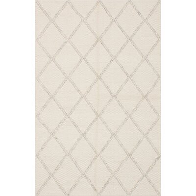 Maui Braided Handmade Cream Area Rug Rug Size: 5 x 8