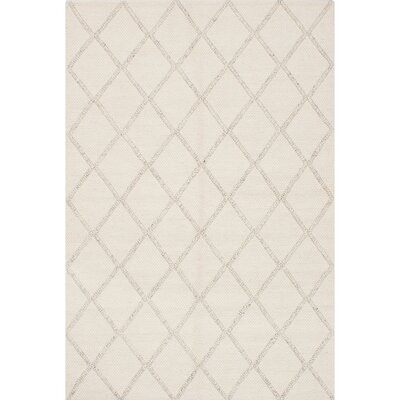 Maui Braided Handmade Cream Area Rug Rug Size: 62 x 93