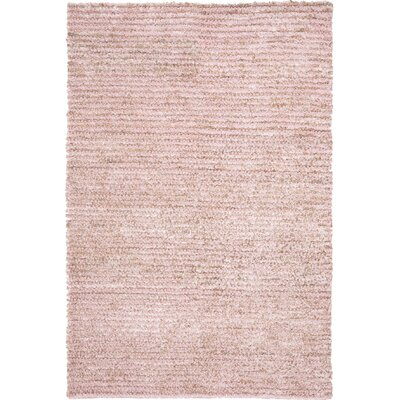 Messiah Pink Area Rug Rug Size: Rectangle 6 x 9