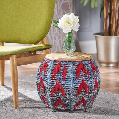 Aqueduct Cotton End Table