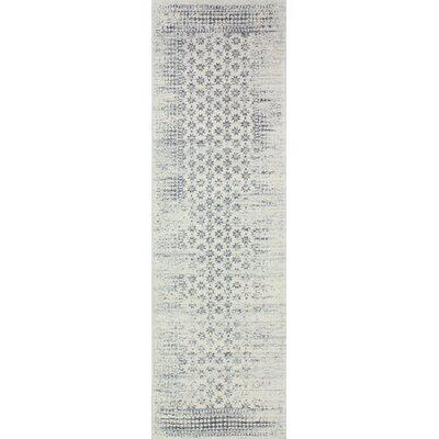 Woodrow Ivory Area Rug Rug Size: Runner 26 x 8