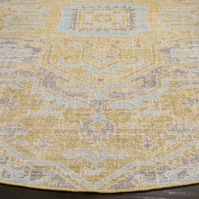 Chauncey Light Gray Area Rug Rug Size: Rectangle 4 x 6