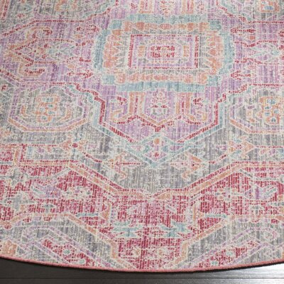 Chauncey Rose / Seafoam Area Rug Rug Size: Rectangle 4' x 6'