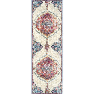 Cearbhall Beige Area Rug Rug Size: Runner 28 x 8