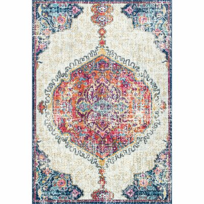 Cearbhall Beige Area Rug Rug Size: Rectangle 9 x 12