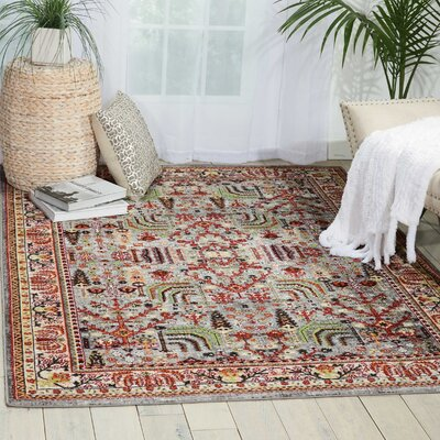 Dover Area Rug Rug Size: Rectangle 53 x 73