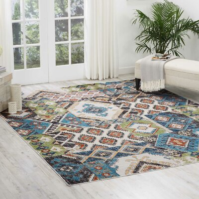 Star Colored Area Rug Rug Size: Rectangle 710 x 10