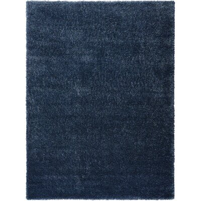 Moindou Navy Area Rug Rug Size: Rectangle 710 x 910