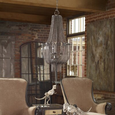 Reza 3-Light Empire Chandelier