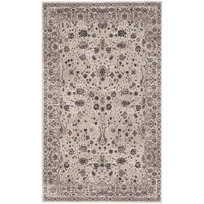 Zennia Creme Area Rug Rug Size: Rectangle 51 x 76