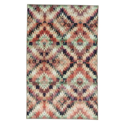 Amblewood Beige/Brown Area Rug Rug Size: Rectangle 5 x 8