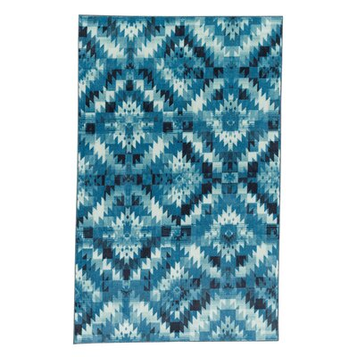 Amblewood Navy Area Rug Rug Size: Rectangle 8 x 10