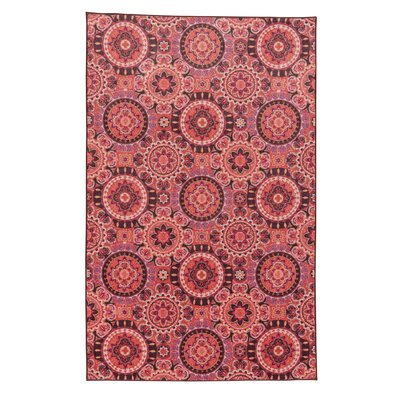 Amblewood Pink Area Rug Rug Size: Rectangle 5 x 8