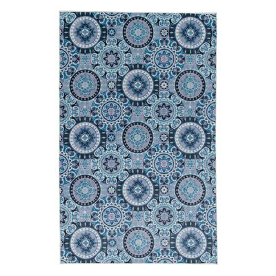 Amblewood Navy Area Rug Rug Size: Rectangle 5 x 8