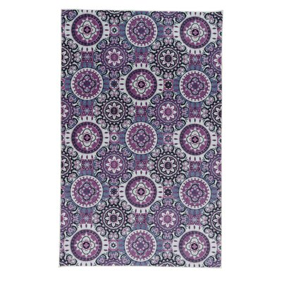 Amblewood Purple Area Rug Rug Size: Rectangle 8 x 10
