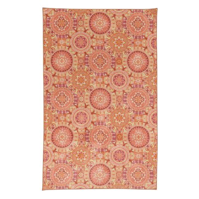 Amblewood Orange Area Rug Rug Size: Rectangle 5 x 8