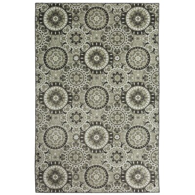 Amblewood Gray Area Rug Rug Size: Rectangle 8 x 10