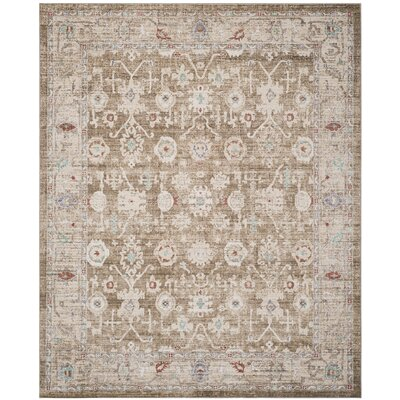Jared Brown Area Rug Rug Size: Rectangle 4 x 6