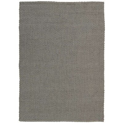 Alliance Handmade Gray Area Rug Rug Size: Rectangle 53 x 74