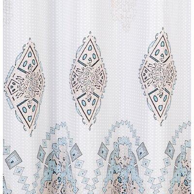 Birchmore Waffle Shower Curtain Size: 72 H x 72 W
