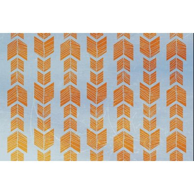 Debarr Orange/Blue Area Rug Rug Size: 2 x 3