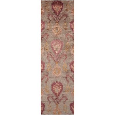 Bay Taupe Area Rug Rug Size: Runner 23 x 8