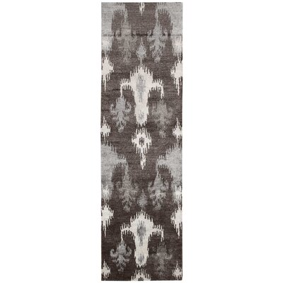 Bay Gray Area Rug Rug Size: Runner 23 x 8