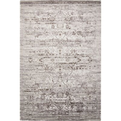 Arabelle Silver Area Rug Rug Size: Rectangle 56 x 8