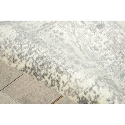 Arabelle Abstract Ivory Area Rug Rug Size: Rectangle 23 x 3
