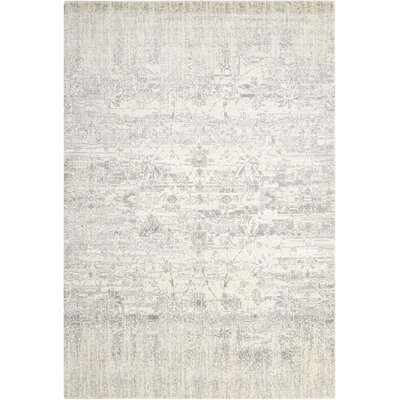 Arabelle Abstract Ivory Area Rug Rug Size: Rectangle 56 x 8