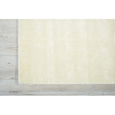 Arabelle Solid Ivory Area Rug Rug Size: Rectangle 86 x 116