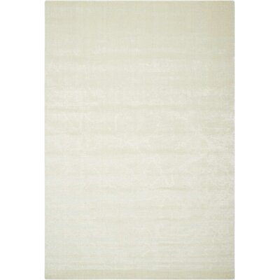 Arabelle Solid Ivory Area Rug Rug Size: Rectangle 56 x 8