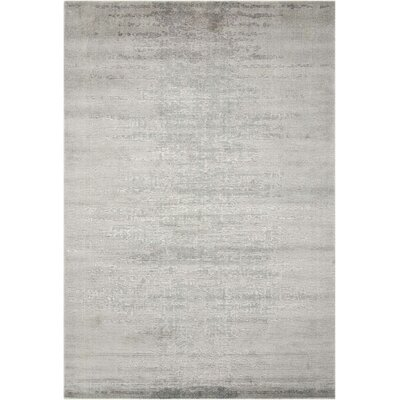 Arabelle Gray Area Rug Rug Size: Rectangle 56 x 8