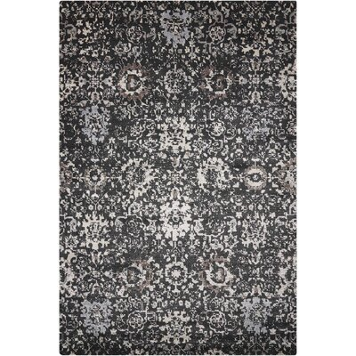 Arabelle Onyx Area Rug Rug Size: Rectangle 56 x 8