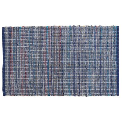 Bryce Canyon Hand-Woven Denim Area Rug Rug Size: Rectangle 23 x 39