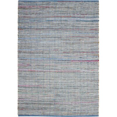 Bryce Canyon Hand-Woven Denim Area Rug Rug Size: Rectangle 110 x 59