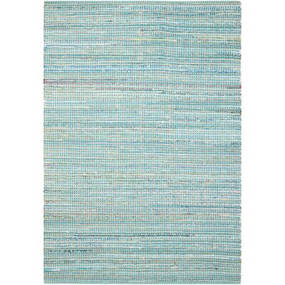 Bryce Canyon Hand-Woven Light Blue Area Rug Rug Size: Rectangle 5 x 7