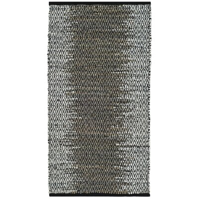 Logan Hand-Woven Light Grey/Grey Area Rug Rug Size: Rectangle 23 x 4