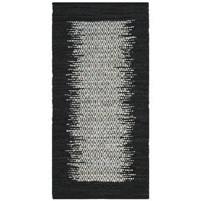 Logan Hand-Woven Light Gray Area Rug Rug Size: Rectangle 23 x 4