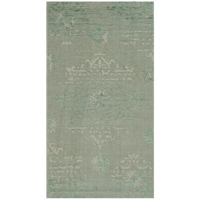 Port Laguerre Light Green Area Rug Rug Size: Rectangle 2 x 36