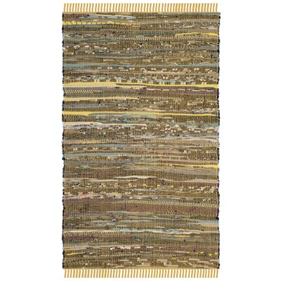 Nessadiou Hand-Woven Yellow/Multi Area Rug Rug Size: Rectangle 2 x 3