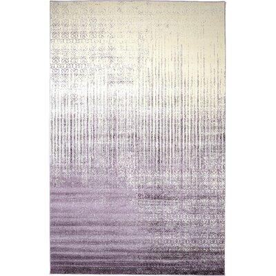 Dungan Purple Area Rug Rug Size: Rectangle 106 x 165