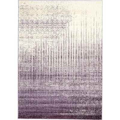 Dungan Purple Area Rug Rug Size: Rectangle 7 x 10