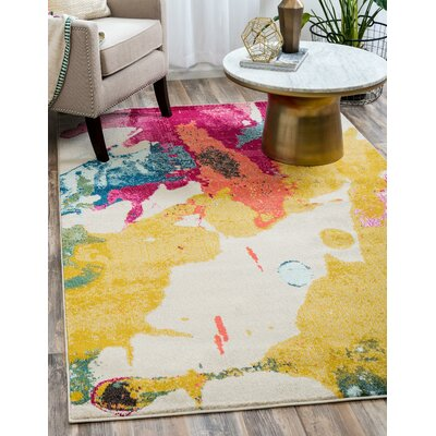 Aquarius Area Rug Rug Size: Rectangle 7' x 10'