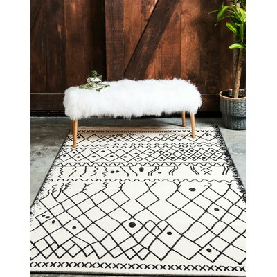 Foxhill Beige Area Rug Rug Size: Rectangle 5 x 8