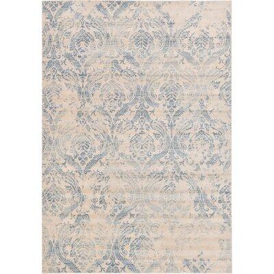 Mellal Blue Area Rug Rug Size: Rectangle 7 x 10