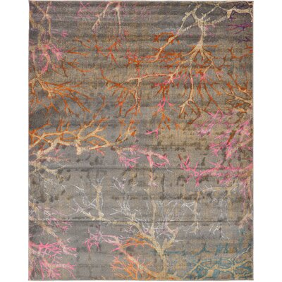 Essex Gray Area Rug Rug Size: Rectangle 8 x 10