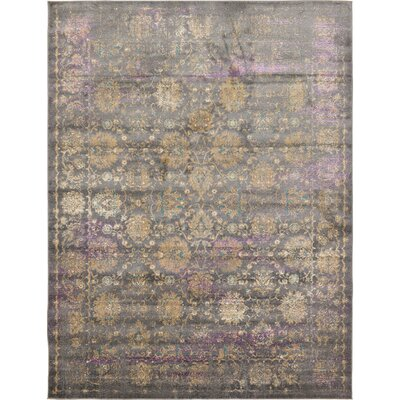 Sepe Gray Area Rug Rug Size: Rectangle 7 x 10