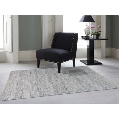 Bertrand Polo Flat-Weave Blue Area Rug Rug Size: Rectangle 8 x 10